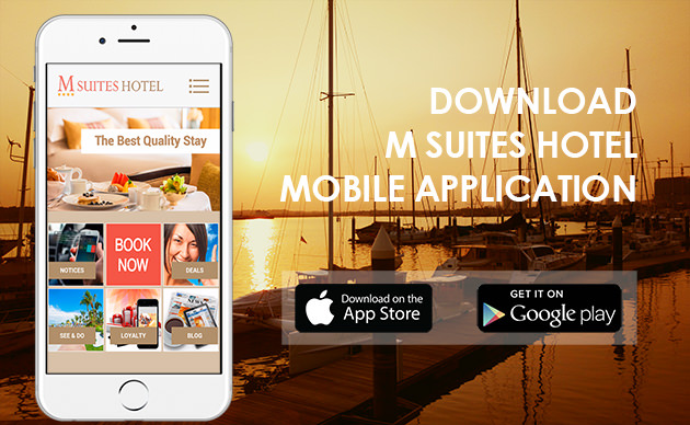 Download Mobile Application M Suites Hotel
