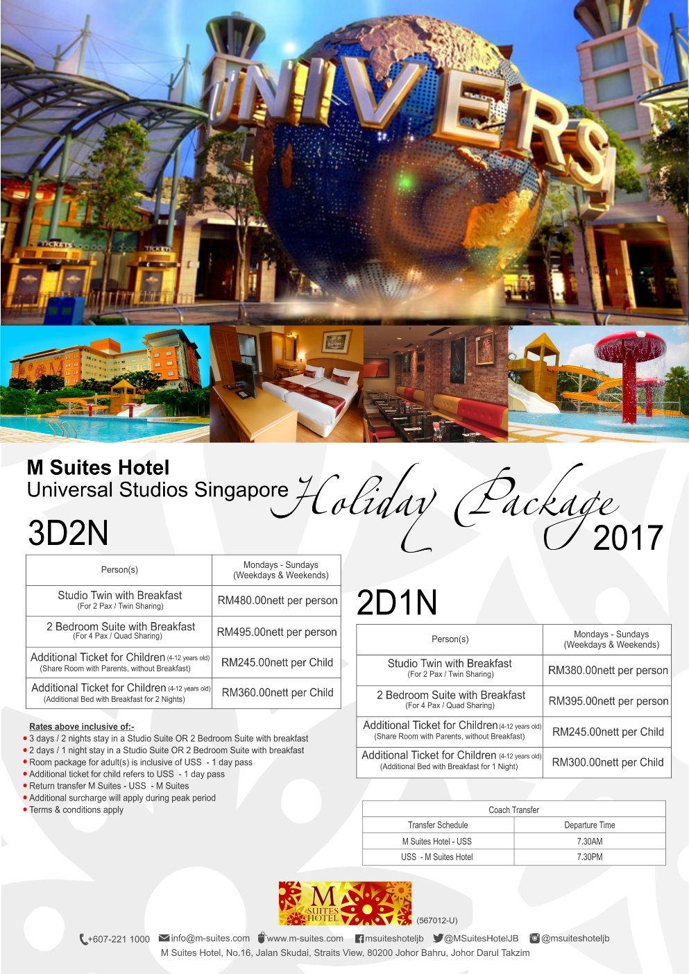 Deals Special Promotions And Offers M Suites Hotel